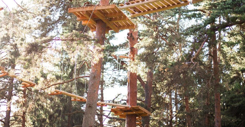 Piedzīvojumu Parks Milžu Taka - Ogre, Zilie Kalni